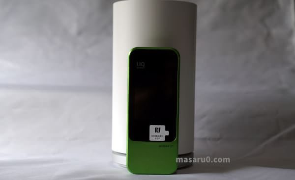 WiMAX HOME L01 レビュー