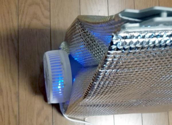 自作クーラー 扇風機