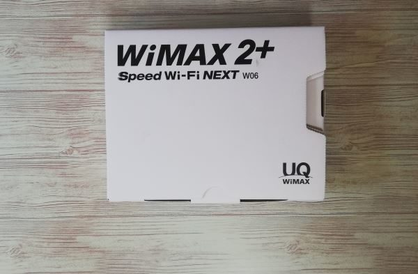 WiMAX2+ W06 レビュー 比較