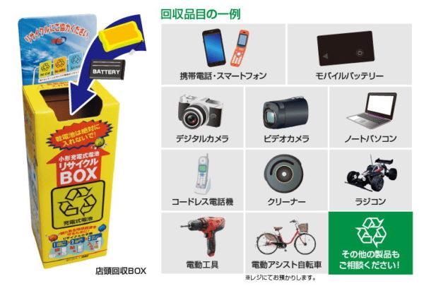 ビックカメラ 回収ボックス