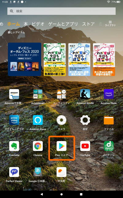 FireHD10 GooglePlay